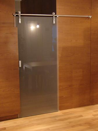 Ścianki szklane z drzwiami przesuwnymi MAJA