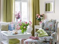 Kwiatowe dekoracje wnetrz Dekoria w stylach z calego swiata 4