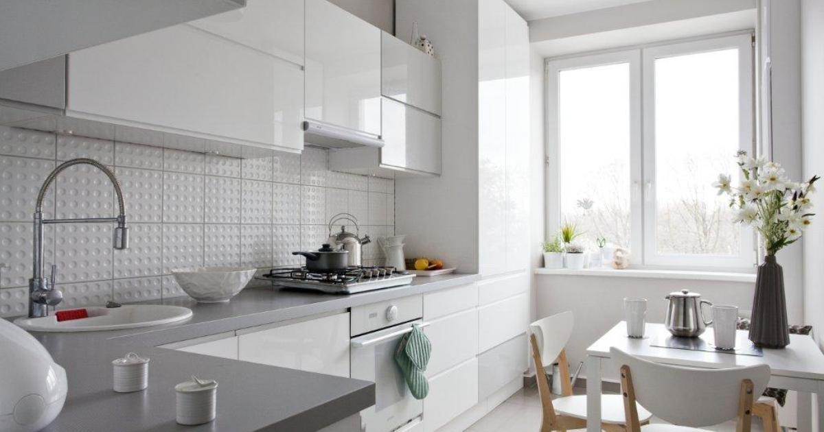 Nowoczesne kuchnie Aranżacje kuchni minimalistycznych -> Kuchnie Nowoczesne Aranżacje