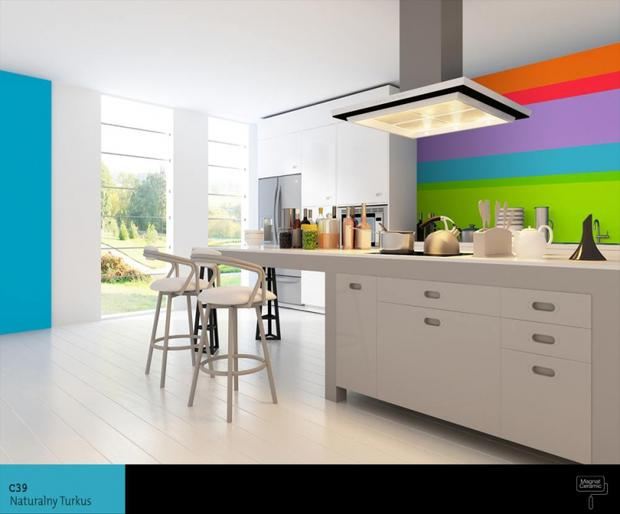 6 najlepszych aranżacji kuchni Jaki wybrać kolor farby   -> Kolor Kuchni Do Jasnych Mebli