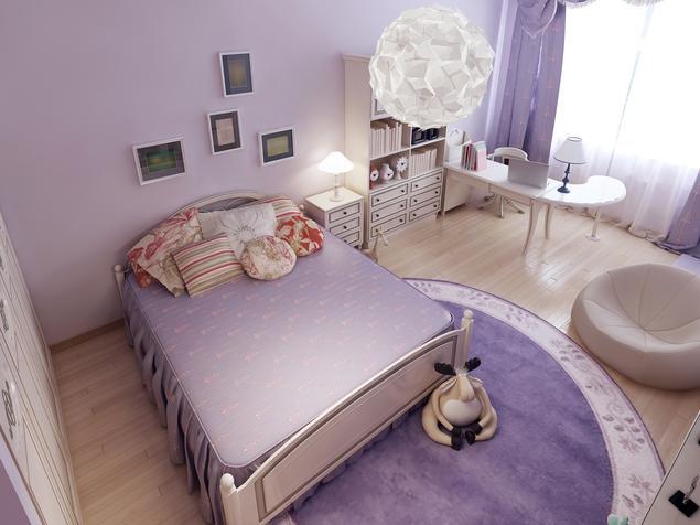 zobacz galeri zdj pok j dla dziewczynki projekty pokoi dla dzieci stronywn. Black Bedroom Furniture Sets. Home Design Ideas