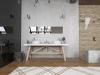 Łazienka w sypialni - nowoczesne wnętrza
