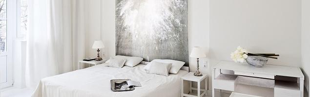 Biała sypialnia – szlachetna prostota i artystyczna lekkość w aranżacji wnętrza