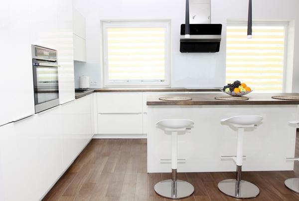 Galeria Kuchnia Bez Uchwytów Biała Kuchnia Z Jadalnią