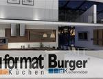 Meble kuchenne marki Bauformat i Burger