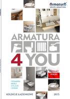 Kolekcje łazienkowe 2015 Grupa Armatura
